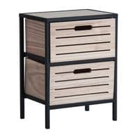 Zimmy Crate Style Storage Drawers For Sale - ChicParadisLux